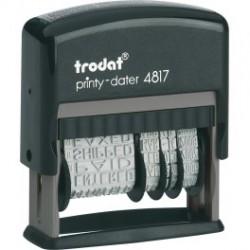 Датер с 12 бухгалтерскими терминами Trodat 4817
