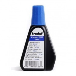 Краска синяя Trodat 7011 для бумаги