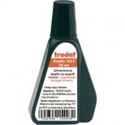 Краска коричневая Trodat 7012 для бумаги
