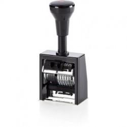 Нумератор с автоматическим переключением 6 разрядный Reiner B6K/6 корпус пластиковый