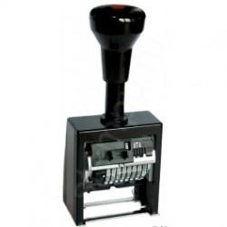 Нумератор с автоматическим переключением 8 разрядный Reiner B6K/8 корпус пластиковый