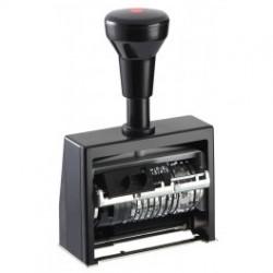 Нумератор+датер с автоматическим переключением 6 разрядный Reiner ND6K/6 корпус пластиковый