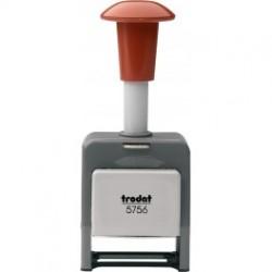 Нумератор с автоматическим переключением 6 разрядный Trodat 5756/P корпус пластик